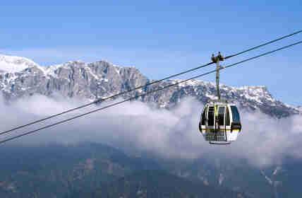 Seleccione las estaciones de esquí