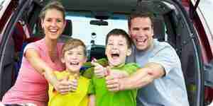 Disfrutar de disneyland con niños