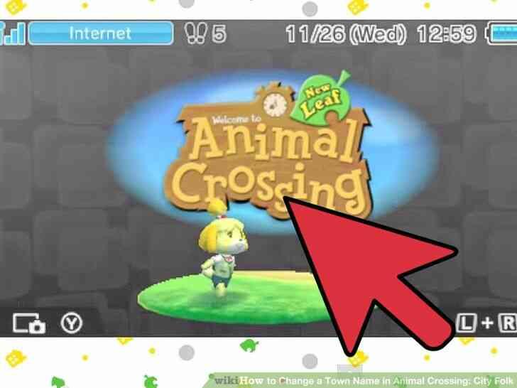 Imagen titulada Cambiar el Nombre del Pueblo en Animal Crossing_ City Folk Paso 5