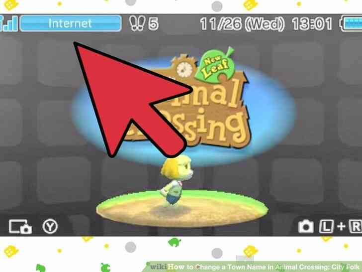 Imagen titulada Cambiar el Nombre del Pueblo en Animal Crossing_ City Folk Paso 16