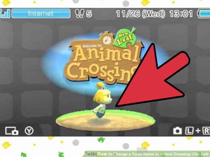 Imagen titulada Cambiar el Nombre del Pueblo en Animal Crossing_ City Folk Paso 17