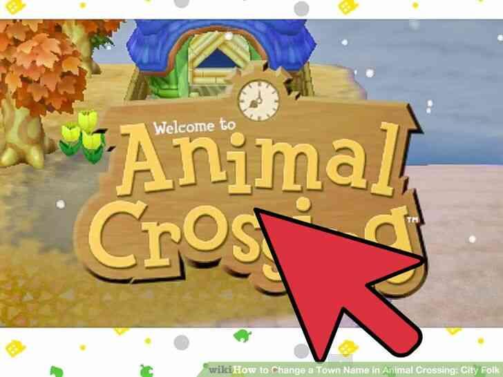 Imagen titulada Cambiar el Nombre del Pueblo en Animal Crossing_ City Folk Paso 18