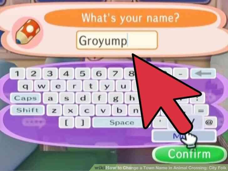 Imagen titulada Cambiar el Nombre del Pueblo en Animal Crossing_ City Folk Paso 2