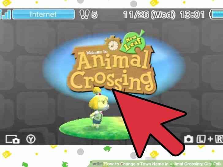 Imagen titulada Cambiar el Nombre del Pueblo en Animal Crossing_ City Folk Paso 22
