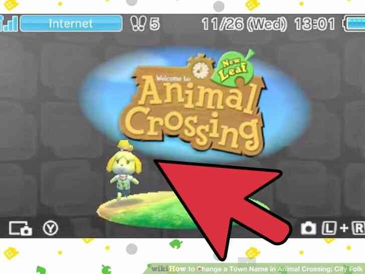 Imagen titulada Cambiar el Nombre del Pueblo en Animal Crossing_ City Folk Paso 25