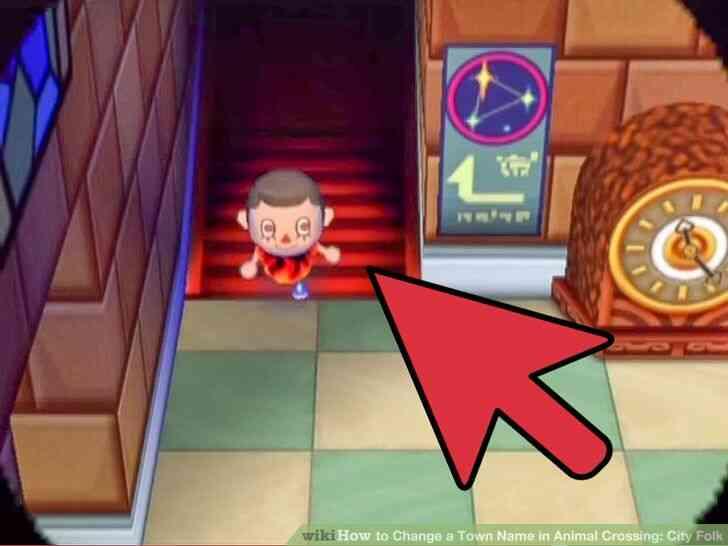 Imagen titulada Cambiar el Nombre del Pueblo en Animal Crossing_ City Folk Paso 4