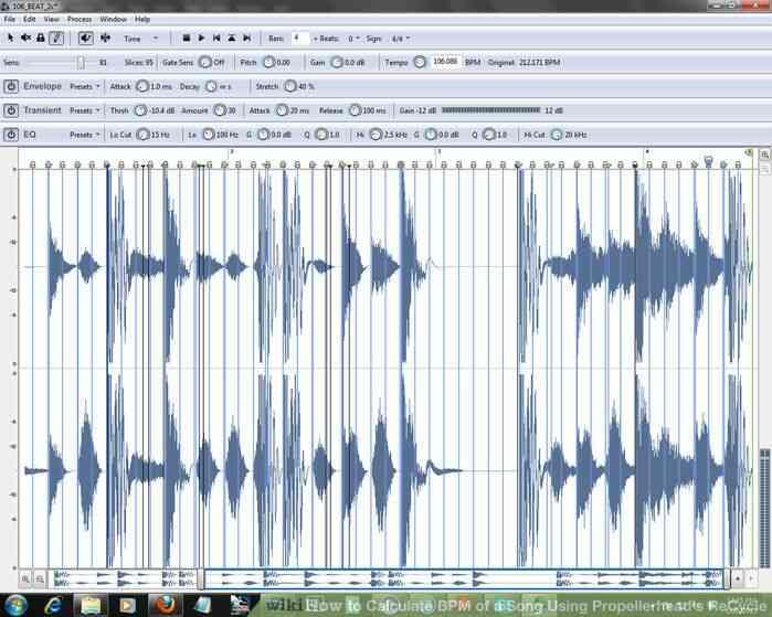 Imagen titulada Calcular los BPM de una Canción a través de Propellerhead de Reciclaje Paso 5