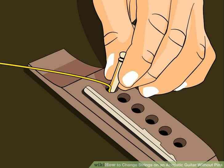 Imagen titulada Cambiar las Cuerdas de Guitarra Paso 8