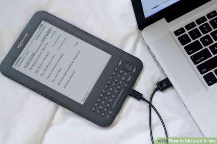 Imagen titulada Cargo de un Kindle Paso 10