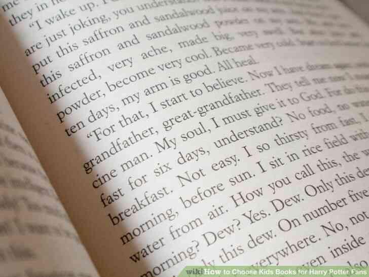 Imagen titulada Elegir Libros de los Niños para los Fans de Harry Potter Paso 6