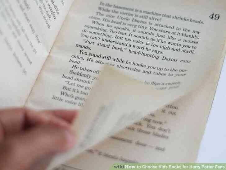Imagen titulada Elegir Libros de los Niños para los Fans de Harry Potter Paso 3
