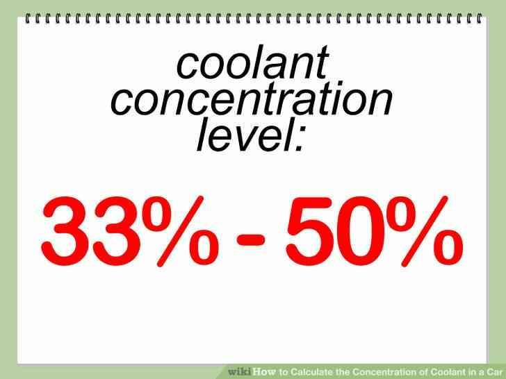 Imagen titulada Calcular la Concentración de Refrigerante en un Coche Paso 2