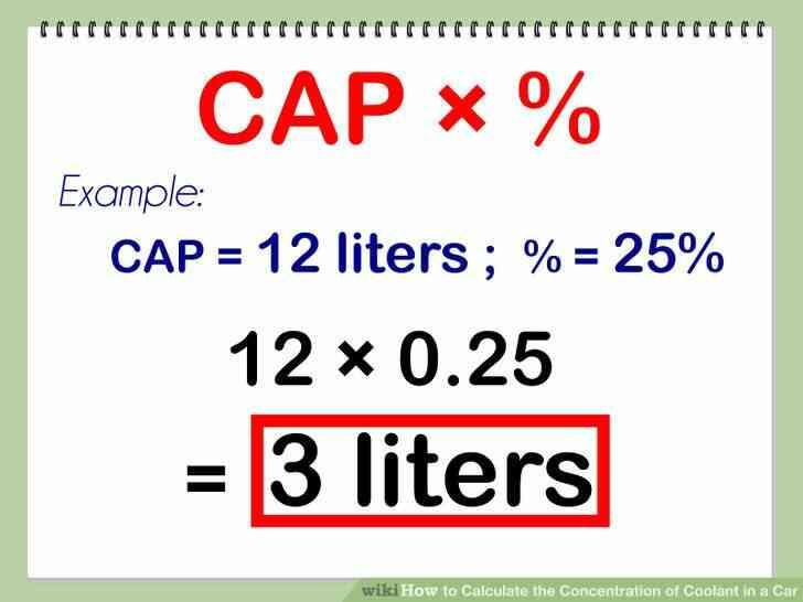 Imagen titulada Calcular la Concentración de Refrigerante en un Coche Paso 4