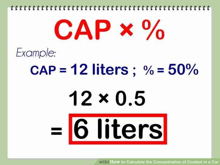 Imagen titulada Calcular la Concentración de Refrigerante en un Coche Paso 5