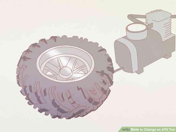 Imagen titulada Cambiar un Neumático de ATV Paso 10