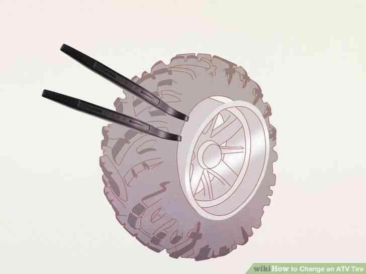 Imagen titulada Cambiar un Neumático de ATV Paso 5