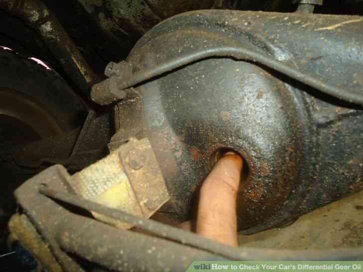 Imagen titulada Revise Su Automóvil Diferencial de Aceite de Engranajes Paso 5Bullet1