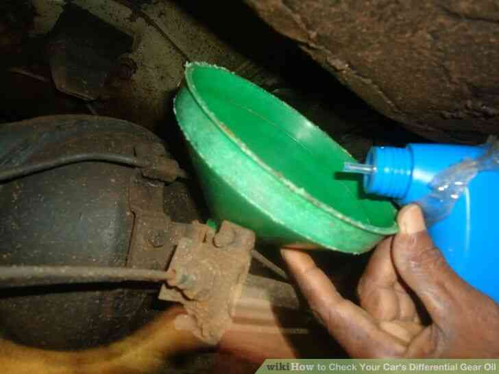 Imagen titulada Revise Su Automóvil Diferencial de Aceite de Engranajes Paso 6