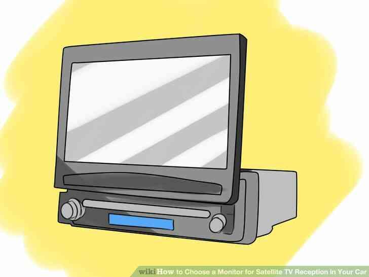 Imagen titulada Elegir un Monitor de TV vía Satélite de Recepción en Su Coche Paso 6