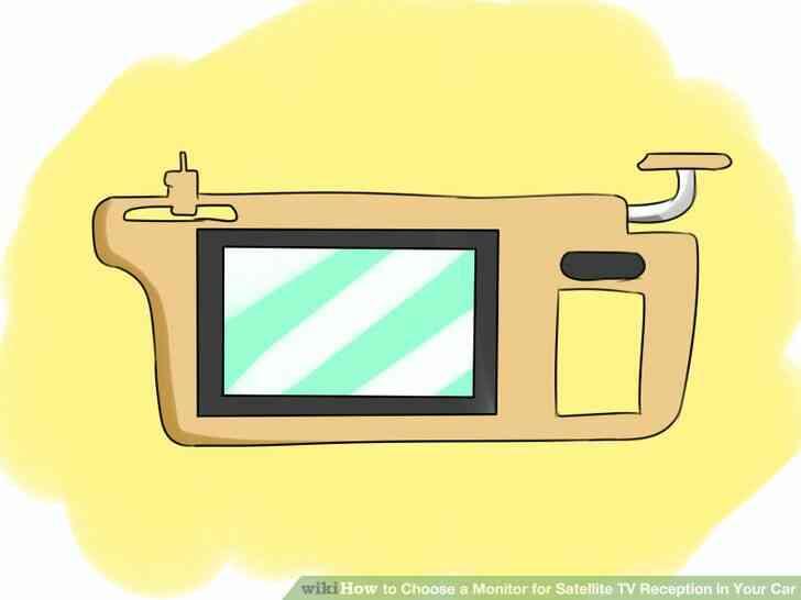 Imagen titulada Elegir un Monitor de TV vía Satélite de Recepción en Su Coche Paso 4