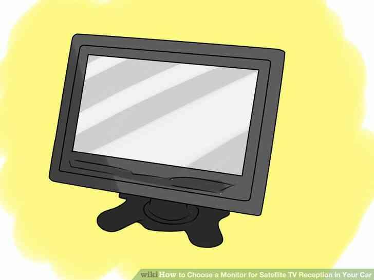 Imagen titulada Elegir un Monitor de TV vía Satélite de Recepción en Su Coche Paso 5