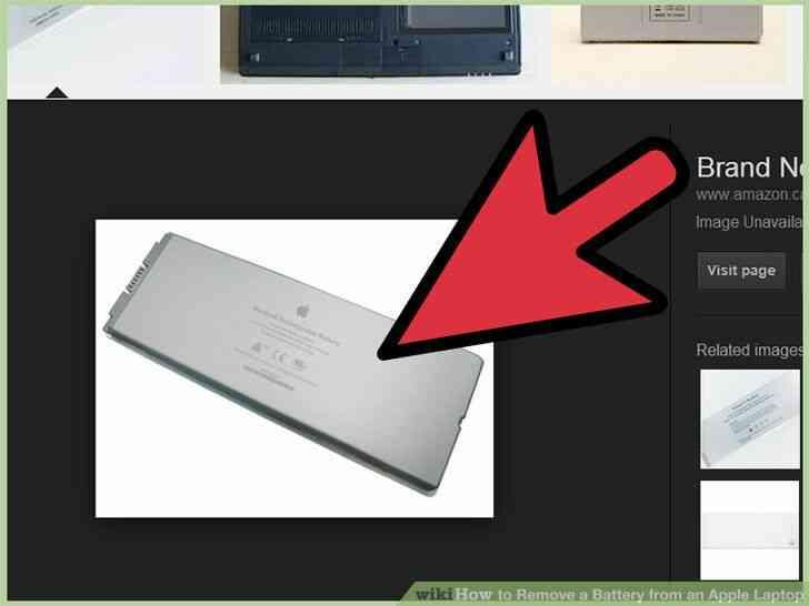 Imagen titulada Quitar la Batería de un Portátil de Apple el Paso 7