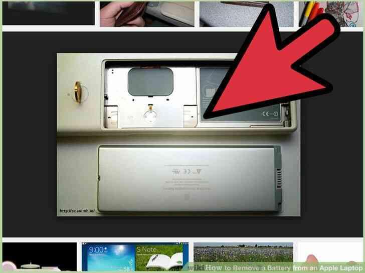 Imagen titulada Quitar la Batería de un Portátil de Apple el Paso 8