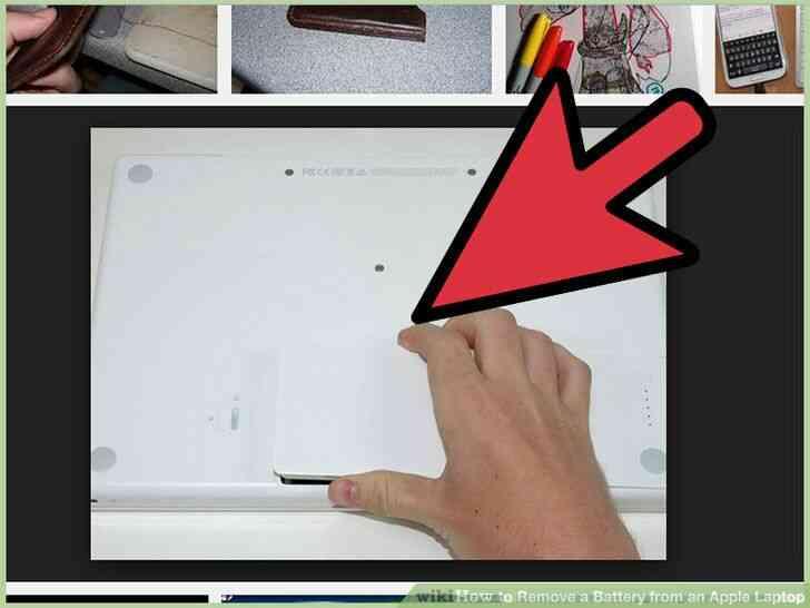 Imagen titulada Quitar la Batería de un Portátil de Apple el Paso 9