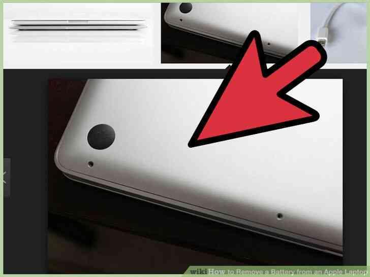 Imagen titulada Quitar la Batería de un Portátil de Apple el Paso 10
