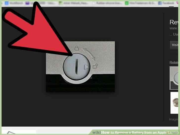 Imagen titulada Quitar la Batería de un Portátil de Apple el Paso 4