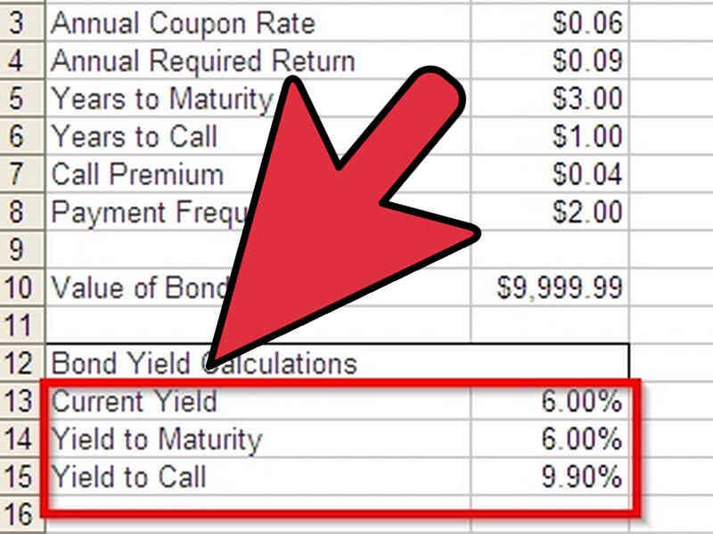 Cómo Calcular el Rendimiento de los Bonos en Excel
