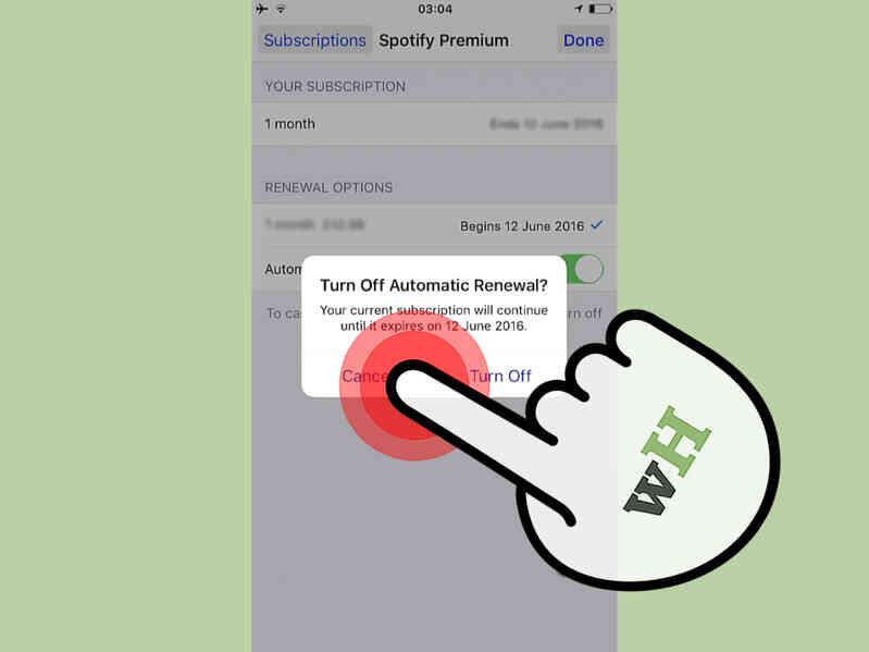Cómo Cancelar Spotify en el iPhone