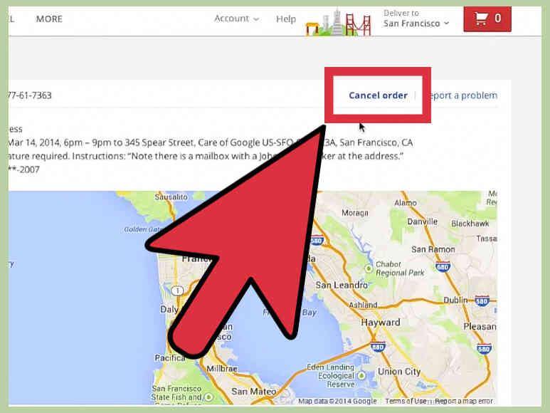 Cómo Cancelar Tu cuenta de Google Shopping Express Orden