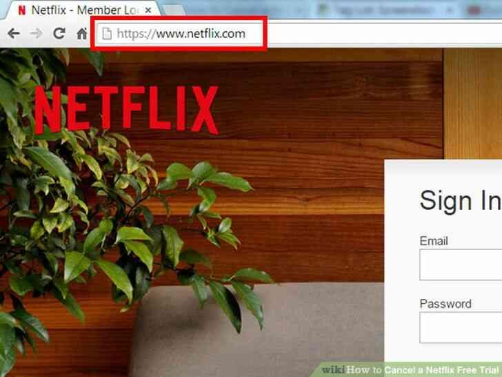 Imagen titulada Cancelar un Netflix de Prueba Gratuita Paso 2