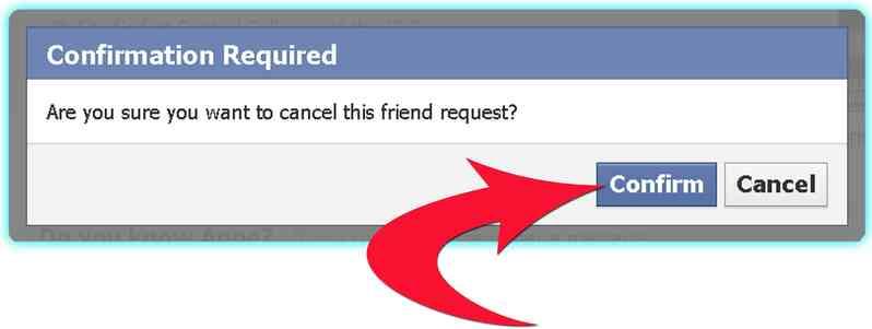 Cómo Cancelar una Pendiente Solicitud de amistad en Facebook