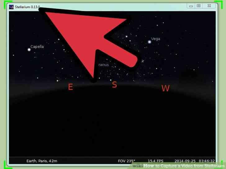 Imagen titulada Capturar un Vídeo de Stellarium Paso 7