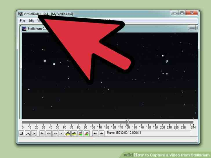 Imagen titulada Capturar un Vídeo de Stellarium Paso 13
