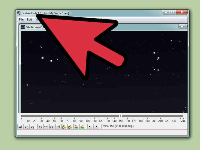 Cómo Capturar un Vídeo de Stellarium
