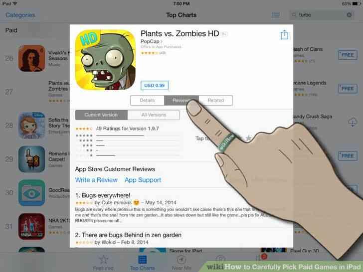 Imagen titulada Cuidadosamente Elegir los Juegos de Pago en el iPad Paso 6