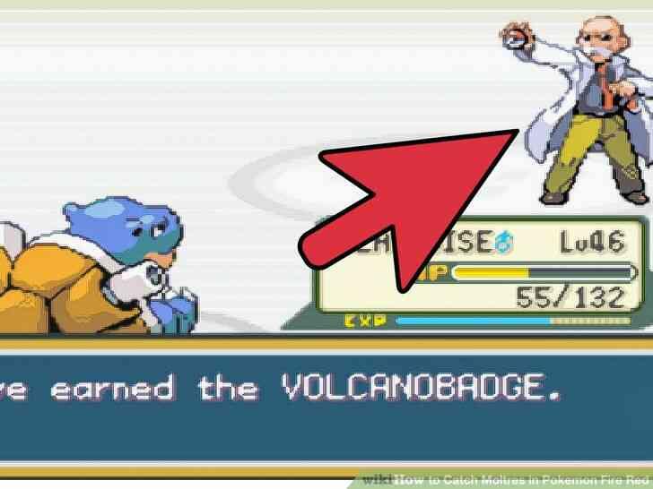 Imagen titulada Captura Moltres en Pokemon Rojo Fuego Paso 1