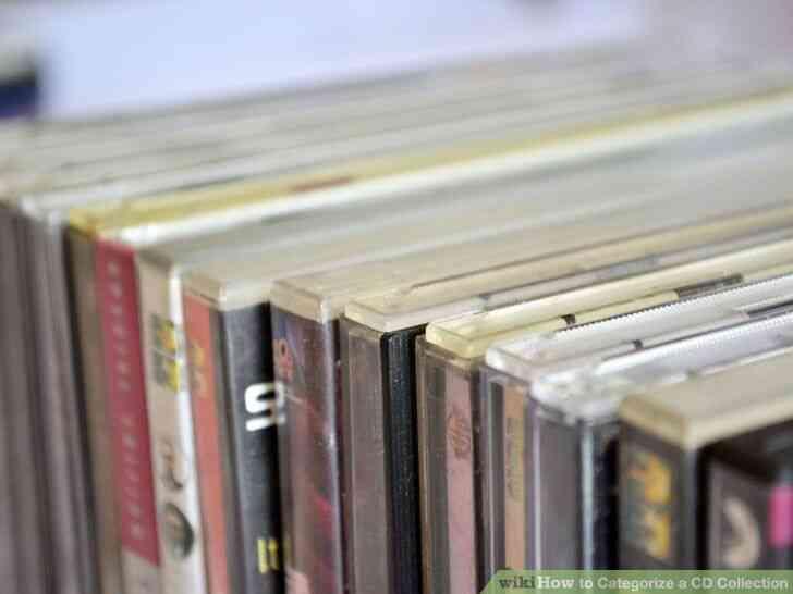 Imagen titulada Clasificar una Colección de CD de Step 7