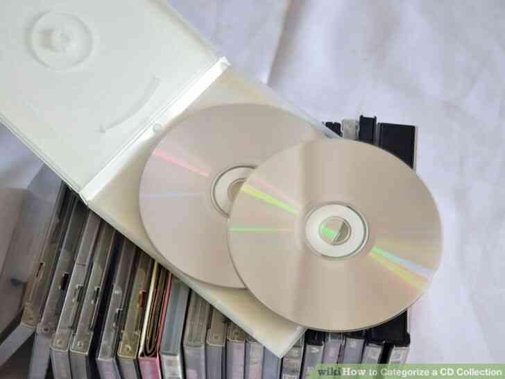 Imagen titulada Clasificar una Colección de CD Paso 8