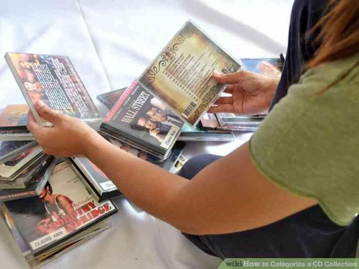 Imagen titulada Clasificar una Colección de CD de Paso 2