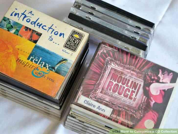 Imagen titulada Clasificar una Colección de CD de el Paso 3