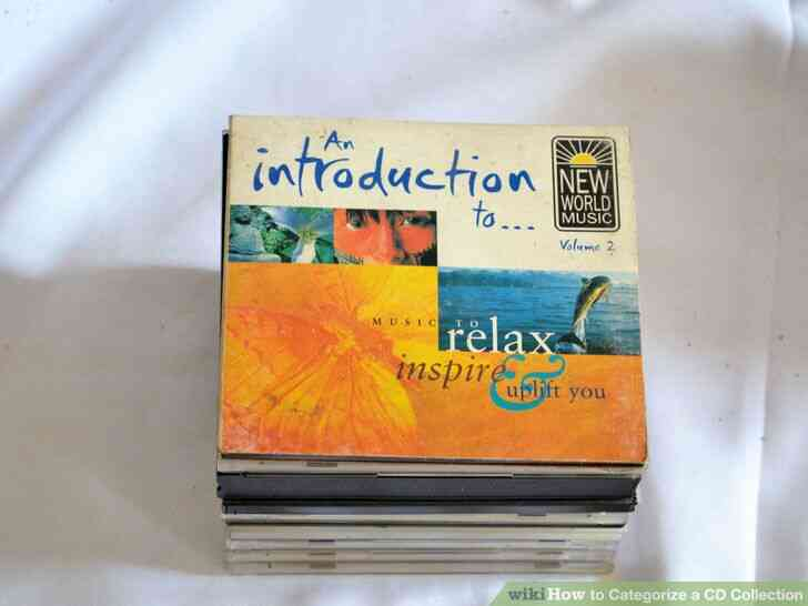 Imagen titulada Clasificar una Colección de CD de Paso 4