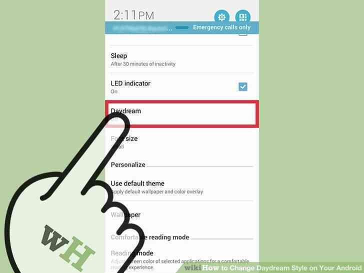 Imagen titulada Cambio de soñar Despierto Estilo en Tu Android Paso 3