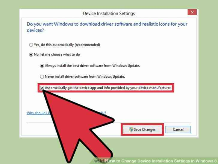 Imagen titulada Dispositivo de Cambio de la Configuración de la Instalación en Windows 8 Paso 4