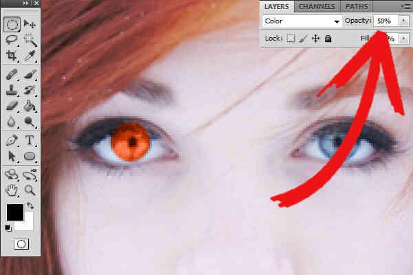 Imagen titulada Cambio de Color de Ojos en Photoshop Elements 7 Paso 8