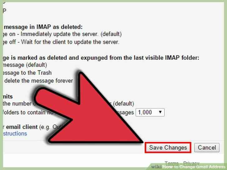 Image titulado Cambio de Dirección de Gmail Paso 13