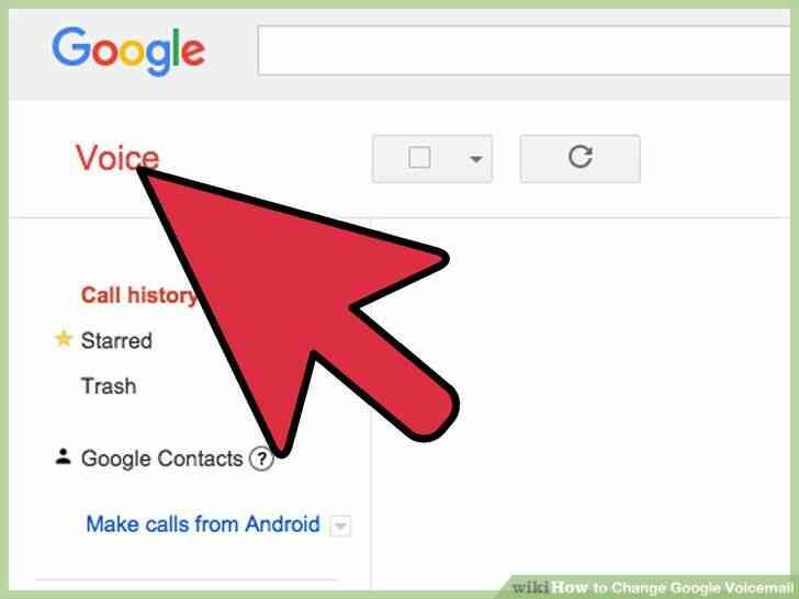 Imagen titulada Cambio de Google de correo de Voz Paso 9